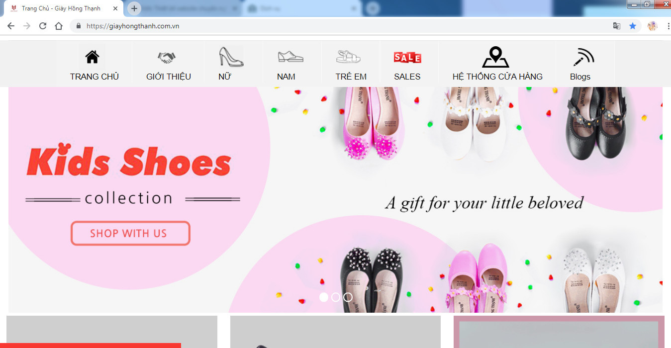 website giầy hồng thạnh