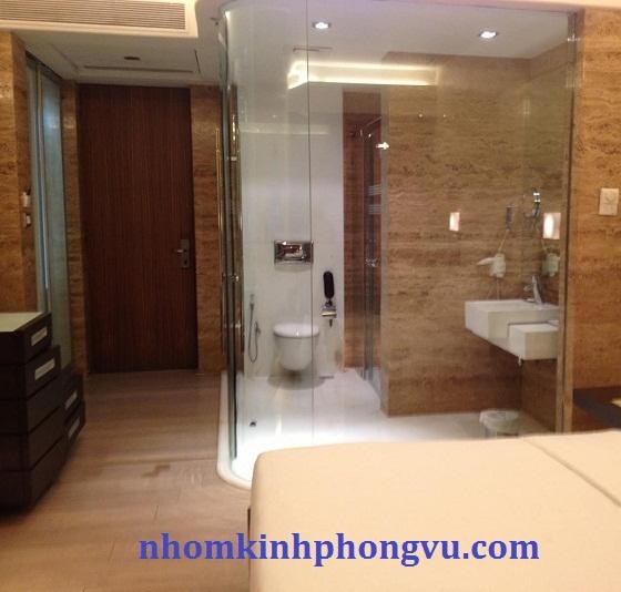 Mẫu phòng tắm kính cường lực PTK06