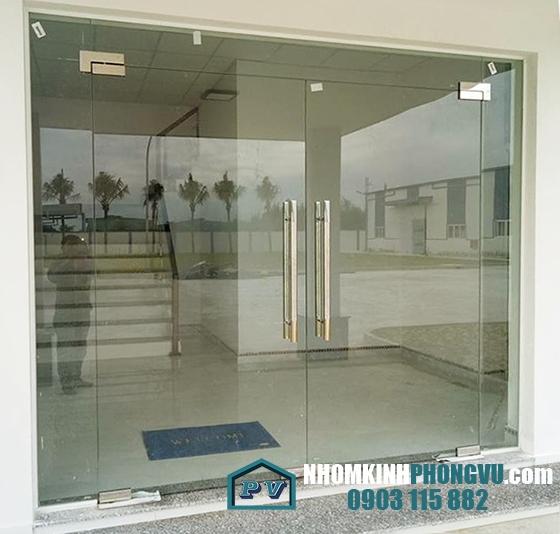 Mẫu cửa kính cường lực bản lề sàn/cửa kính thủy lực [AN TOÀN] dễ sử dụng