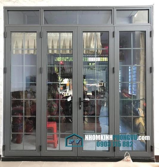 Làm cửa nhôm kính cho nhà anh Tùng, đường số 17, Phường Linh Chiểu, Quận Thủ Đức, TPHCM