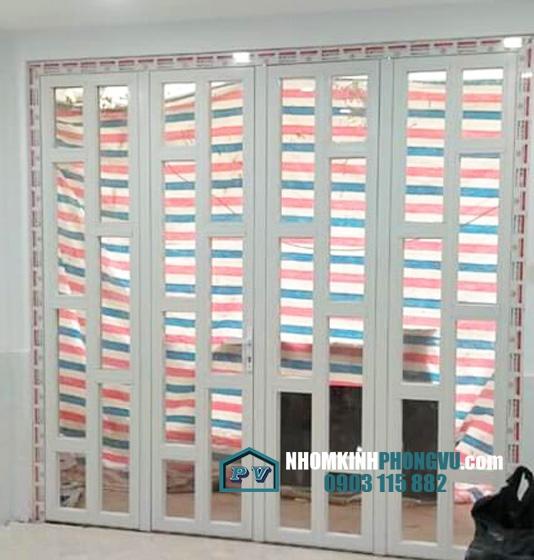 Lắp đặt cửa nhôm kính nhà anh Hoàng, Lương Đình Của, P An Khánh, Quận 2, TPHCM