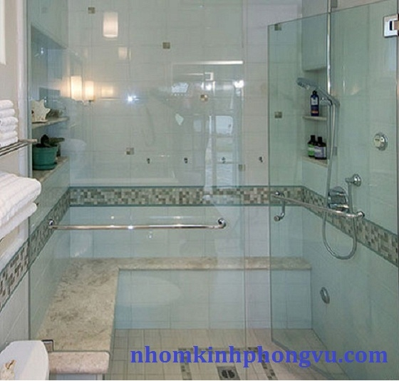Mẫu phòng tắm Kính cường lực PTK01