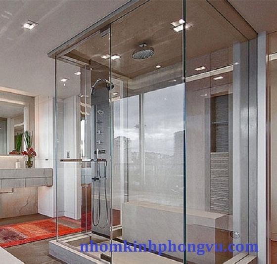 Mẫu vách kính phòng tắm đẹp PTK04