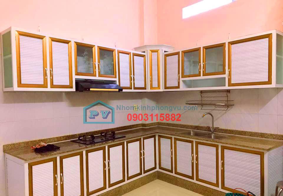Kinh nghiệm chọn mẫu tủ bếp nhôm kính đẹp, sang trọng, hợp phong thủy năm [2020]