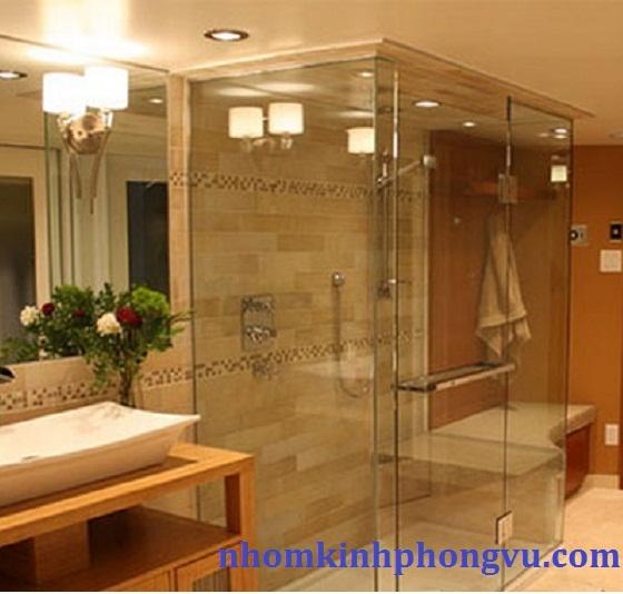 Mẫu phòng tắm kính cường lực PTK03