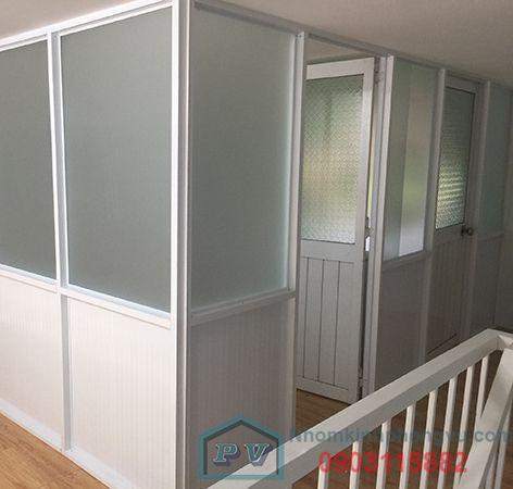 [2019] Báo giá 9+ mẫu vách ngăn nhôm kính cho phòng ngủ đẹp, sang trọng